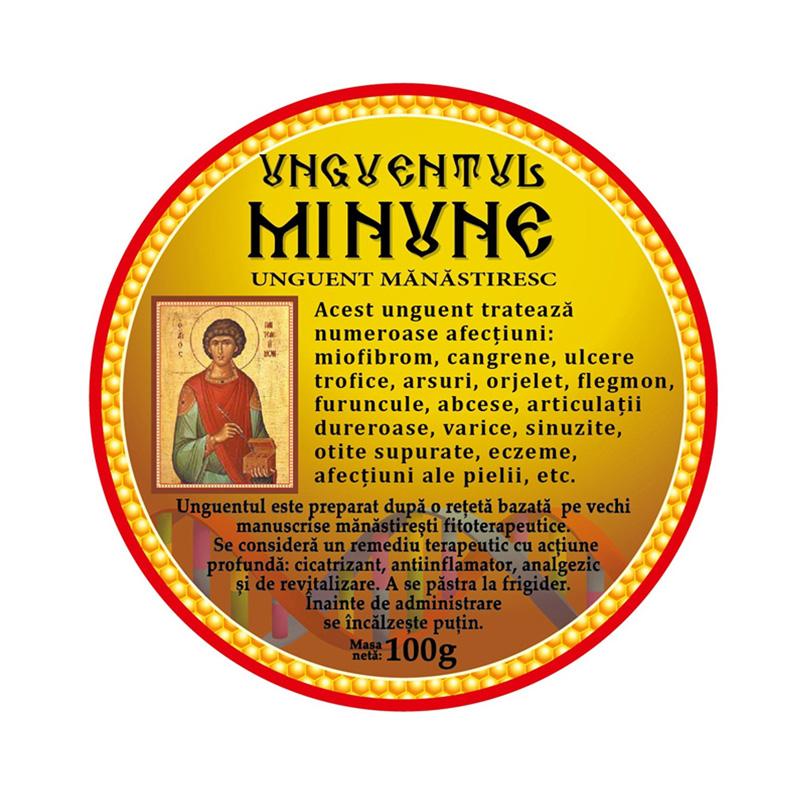 mânăstire unguent cu varicoză